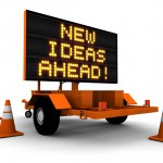 New Ideas Ahead - photo purchased from iStock Photo