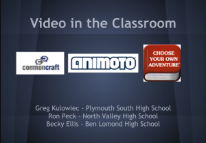Video in the Classroom - EdTechTeacher's Greg Kulowiec